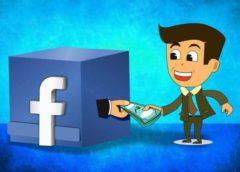 """Facebook elimina discretamente el slogan de su página """"es gratis y siempre lo será""""."""