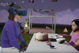 """""""Resucitan"""" a niña en realidad virtual para que se reencuentre con su madre."""